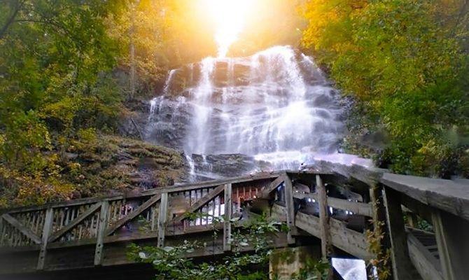 Waterfalls in Georgia Amicalola Falls, Dawsonville