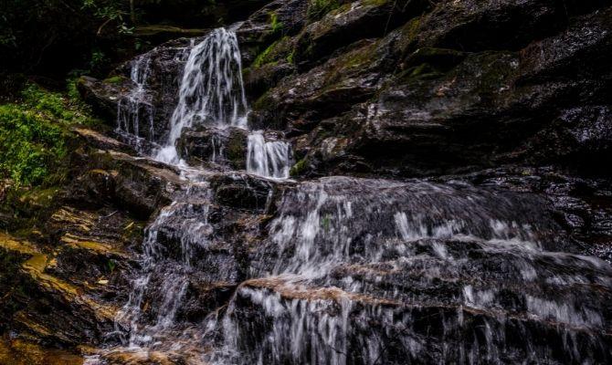 Waterfalls in Georgia Becky Branch Falls, Rabun Country