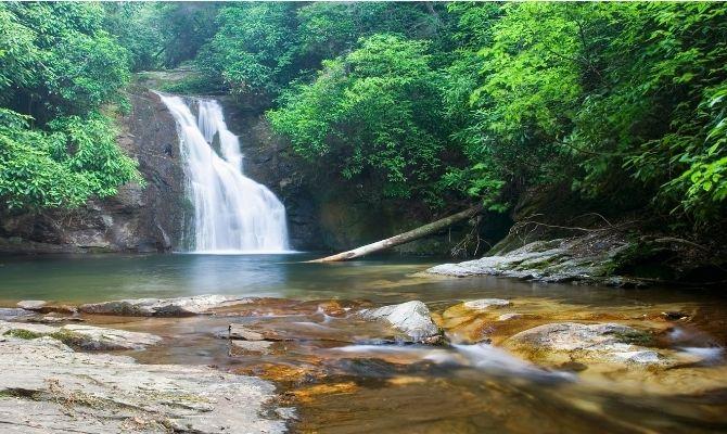 Waterfalls in Georgia Blue Hole Falls