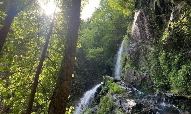 Waterfalls in Georgia Cochrans Falls, Dawsonville