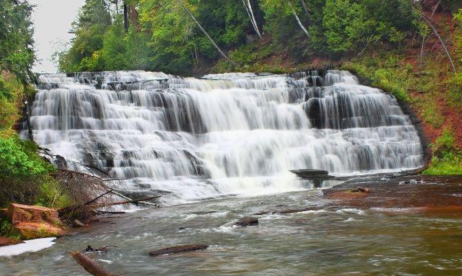 Agate Falls Scenic Site, Trout Creek