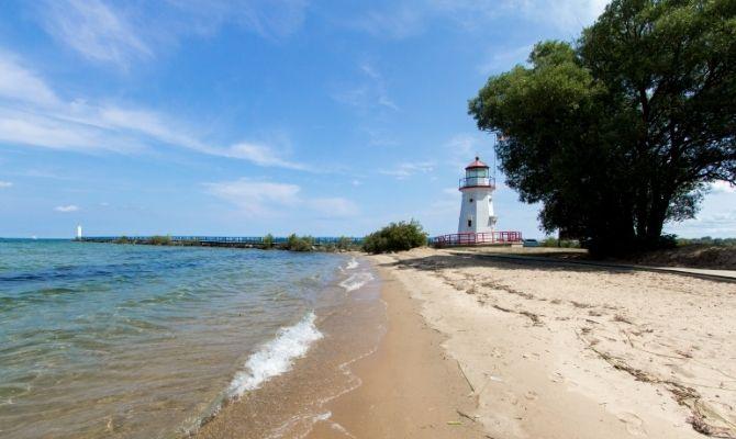 Beaches in Michigan Cheboygan State Park