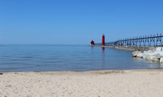 Beaches in Michigan Grand Haven City Beach