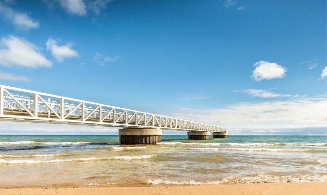 Beaches in Michigan Oscoda Beach Park