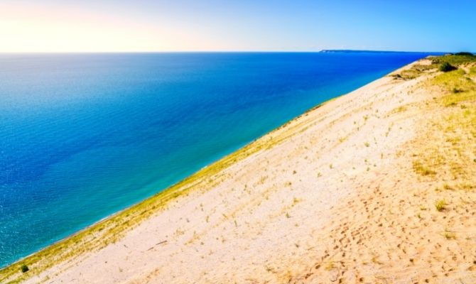 Beaches in Michigan Sleeping Bear Dunes National Lakeshore
