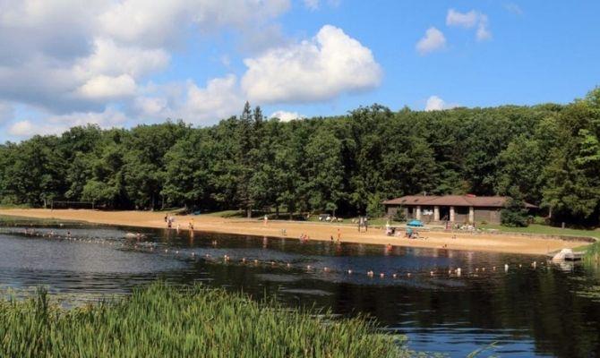Beaches in Pennsylvania Black Moshannon State Park Beach
