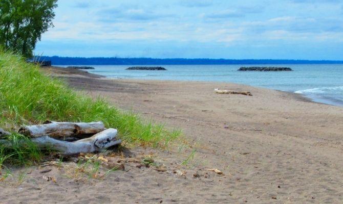 Beaches in Pennsylvania Kohler beach, Erie