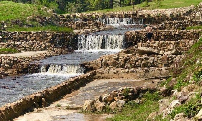 Boykin Creek Waterfall, Boykin Springs Recreation Area