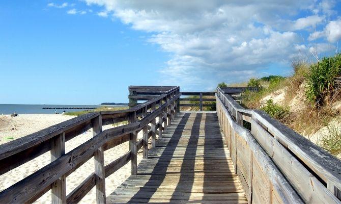 Cape Charles Beach, Virginia