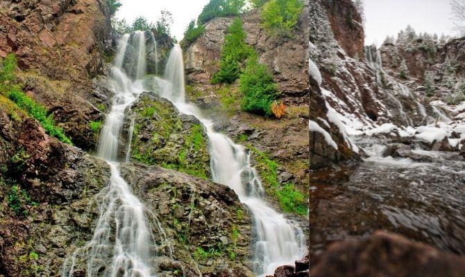 Douglass Houghton Falls, Calumet Township