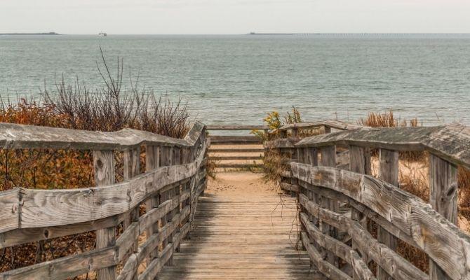 First Landing State Park Beach, Cape Henry