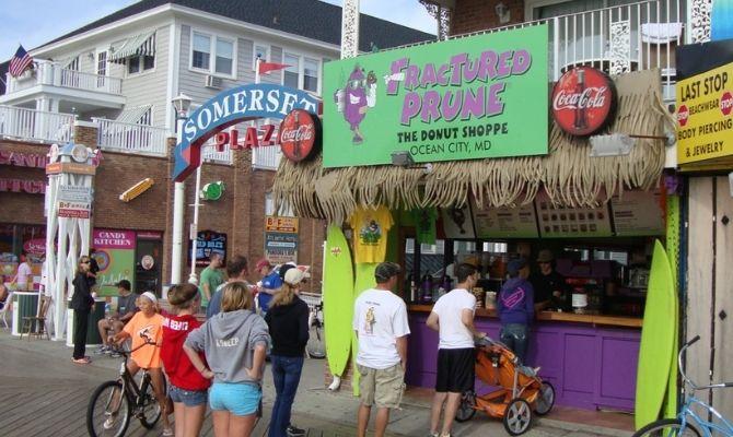 Fractured Prune Donuts Ocean City MD
