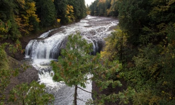 Great Conglomerate Falls, Black River