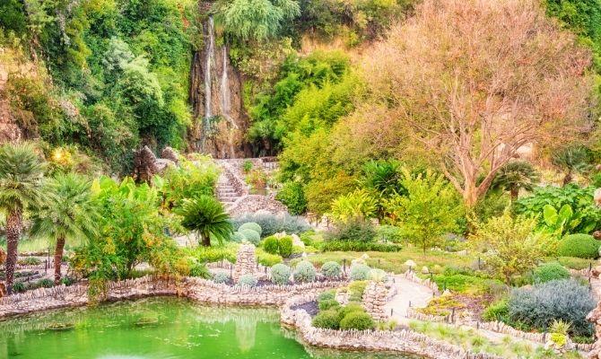 Japanese Tea Garden Waterfall, San Antonio