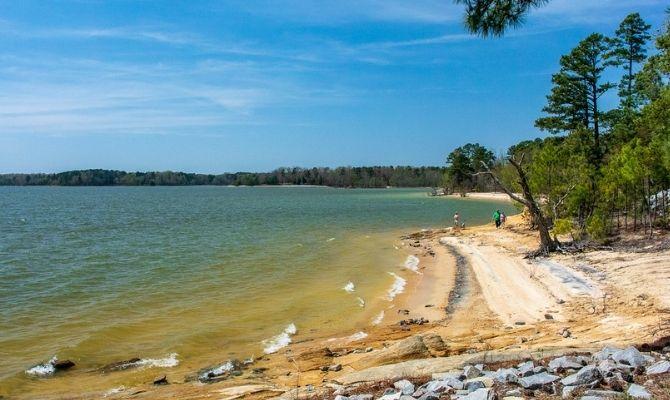 Kerr Lake Beach, Buggs Island