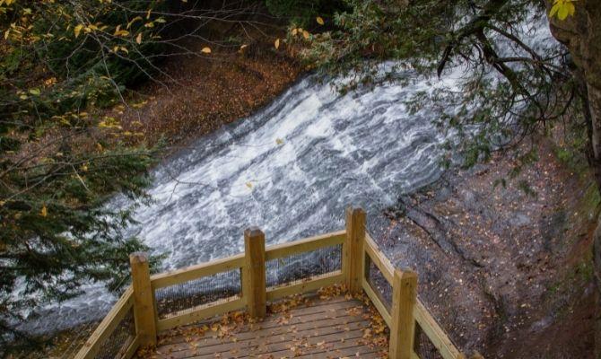 Laughing Whitefish Falls State Park, Michigan