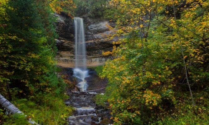 Munising Falls, Munising
