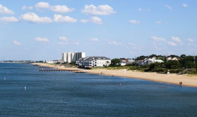 Ocean View Beach, Norfolk