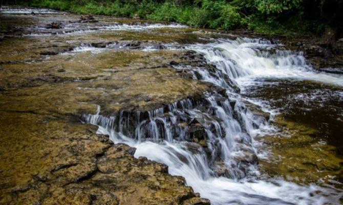 Ocqueoc Falls, Ocqueoc