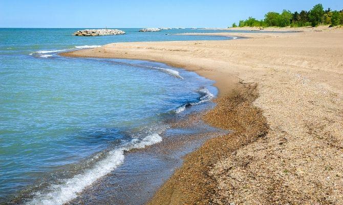 Presque Isle State Park Beach, Erie