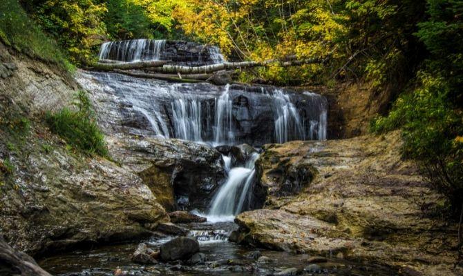 Sable Falls, Pictured Rocks National Lakeshore
