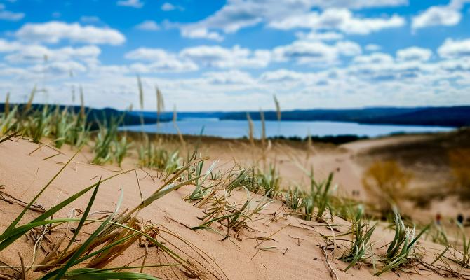 Silver Lake Sand Dunes, Hart