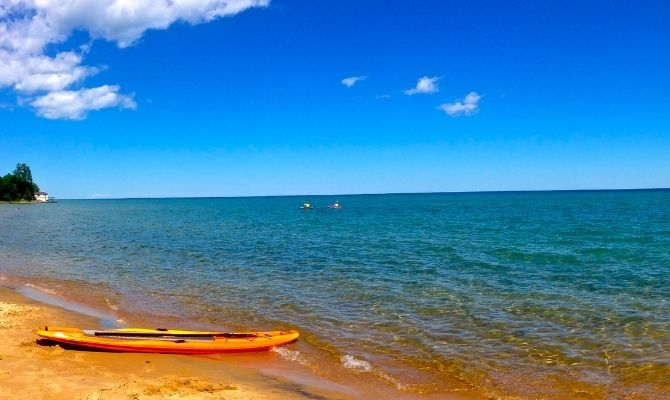 Tawas Point State Park Beach, East Tawas