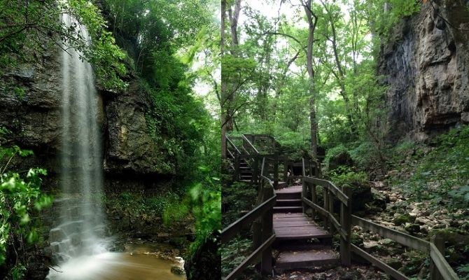 Amphitheater Falls, Clifton Gorge State Nature Preserve