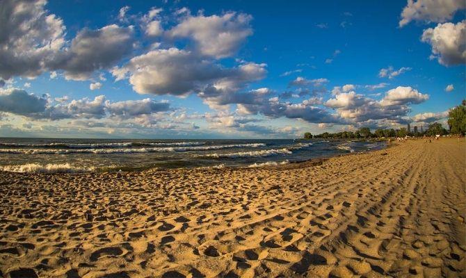Beaches in Ohio Edgewater Beach