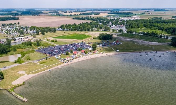 Beaches in Ohio Old Field Beach