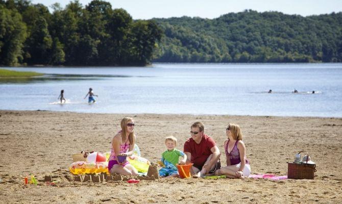 Beaches in Ohio Salt Fork State Park Beach