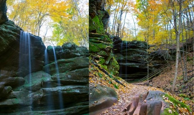 Big and Little Lyons Falls, Mohican State Park