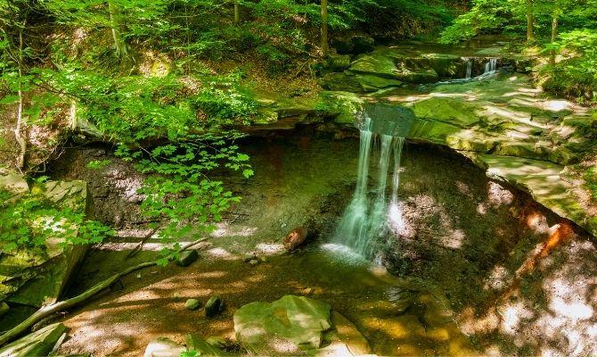 Blue Hen Falls, Cuyahoga Valley National Park