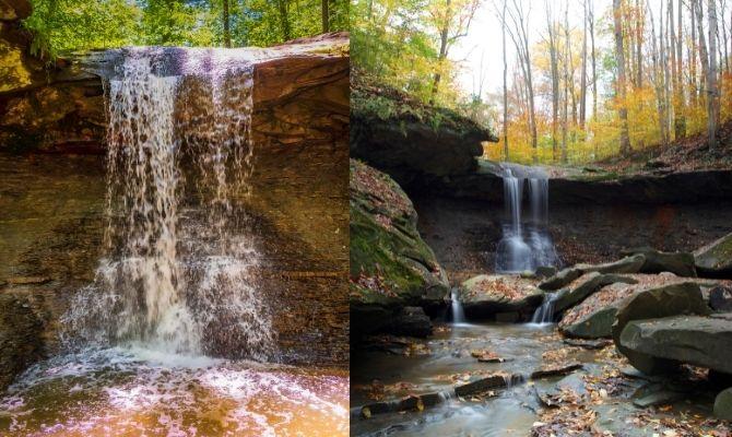 Blue Hen Falls, Ohio
