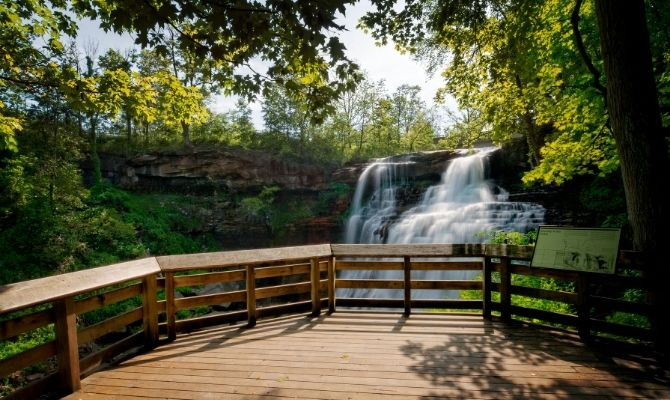 Brandywine Falls, Cuyahoga Valley National Park