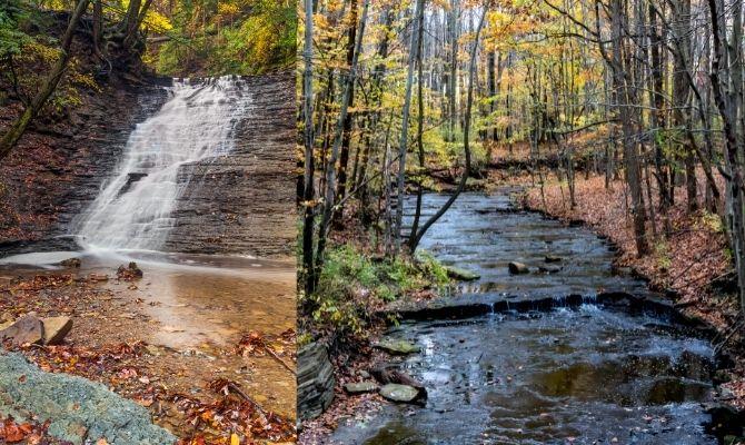 Buttermilk Falls, Ohio