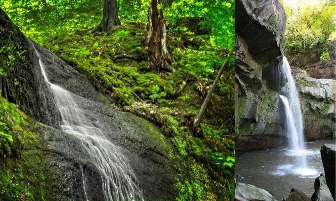 Cascade Falls, Nelson-Kennedy Ledges State Park