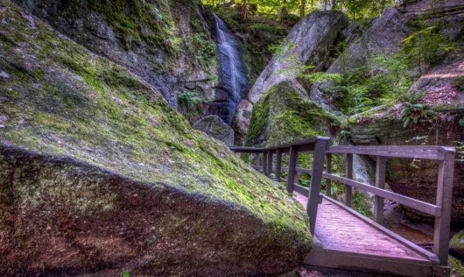 Cascade Falls, Ohio