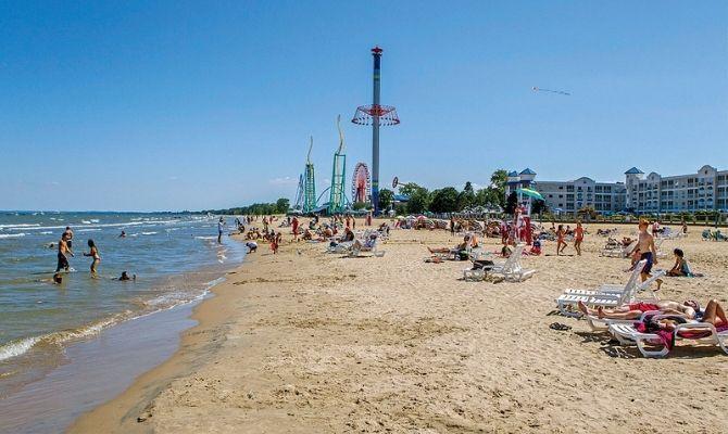 Cedar Point Beach, Sandusky Ohio
