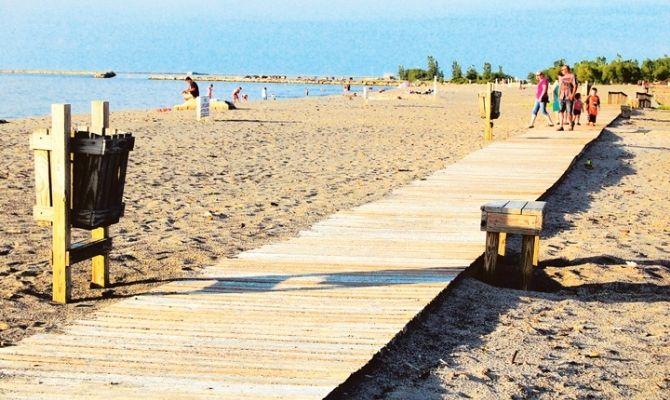 Conneaut Township Park Beach, Conneaut