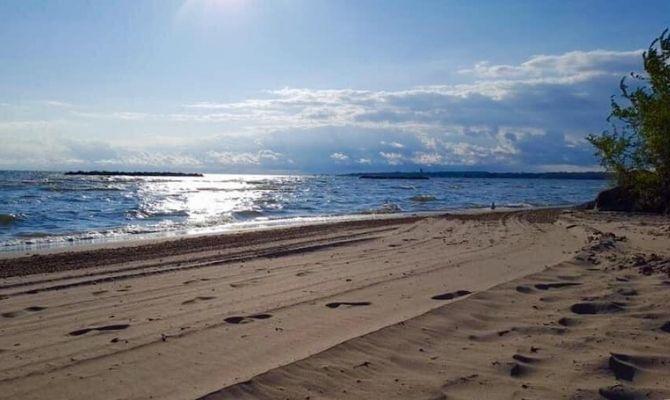 East Harbor State Park Beach, Ohio