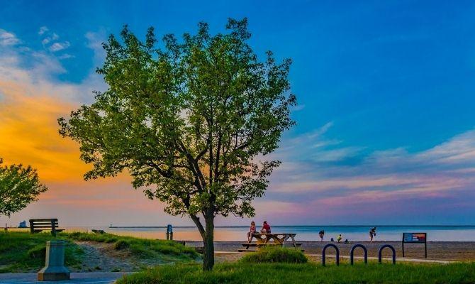 Fairport Harbor Lakefront Park Beach, Fairport Harbor