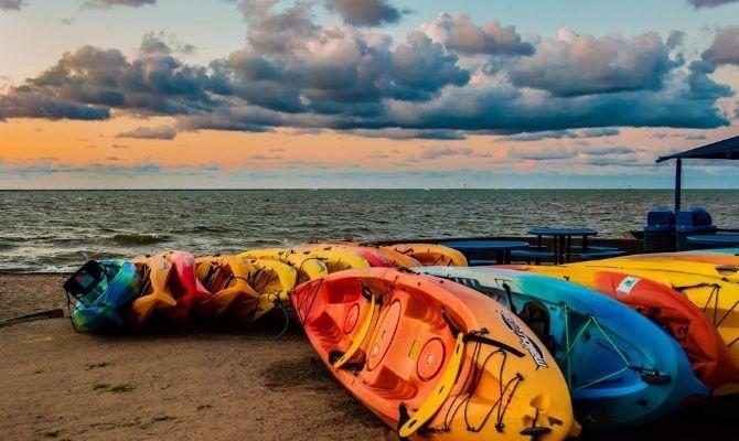 Fairport Harbor Lakefront Park Beach Ohio