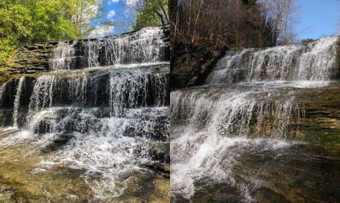 Fallsville Falls, Fallsville Wildlife Area