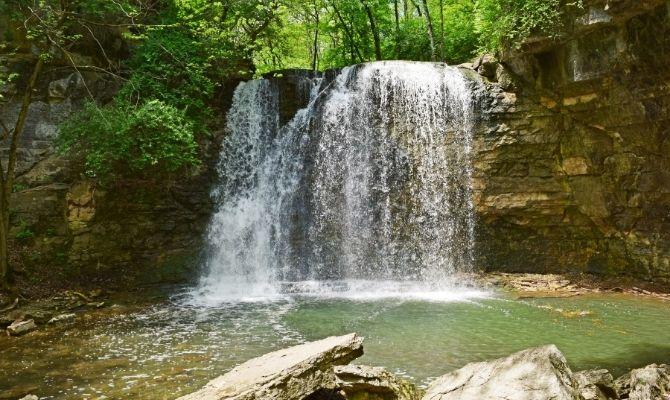 Hayden Run Falls, Hayden Falls Park
