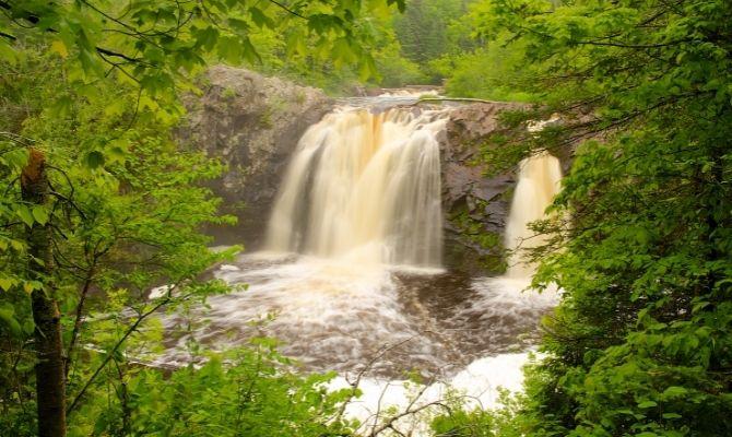 Little Manitou Falls, Pattison State Park