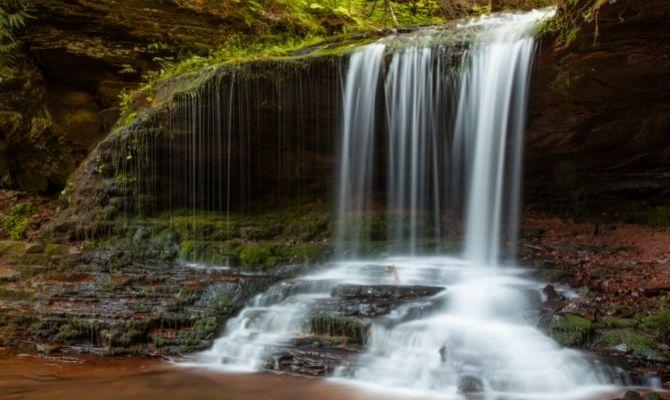 Lost Creek Falls, Cornucopia WI