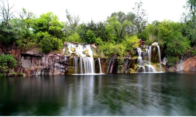 Montello Granite Quarry Waterfalls