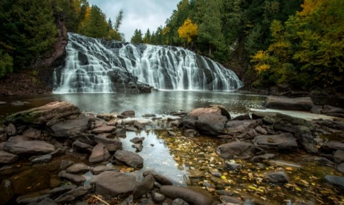 Potato River Falls, Gurney