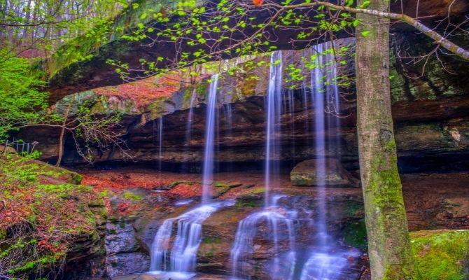 Rockbridge Falls, Rockbridge State Nature Preserve